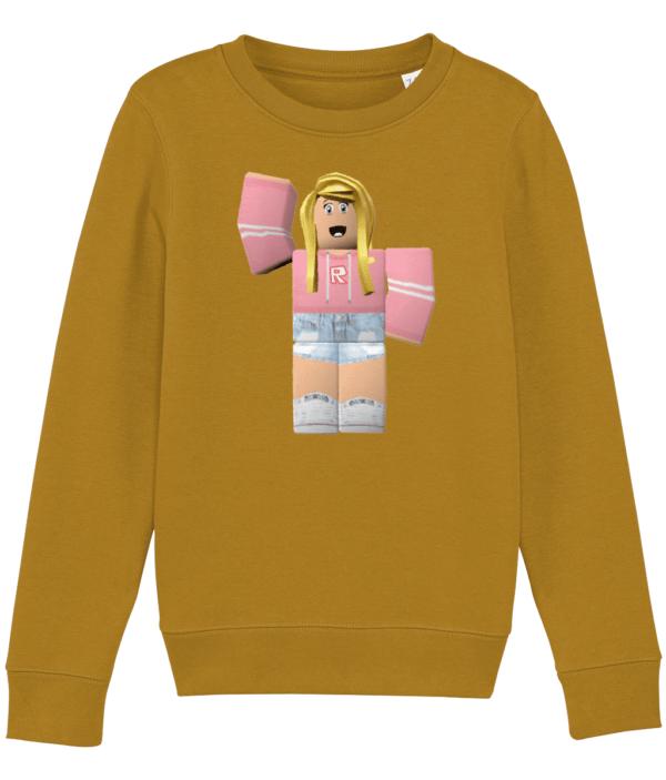Roblox Training Girl Sweatshirt Roblox Training Girl Sweatshirt