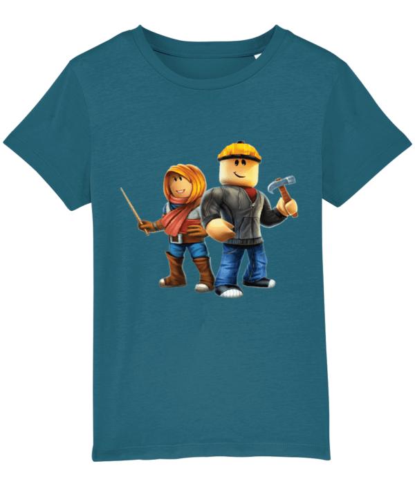 Builder man and Friend Child's Tshirt builder man