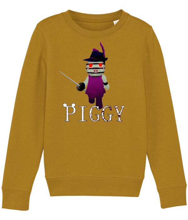 Zizzy from Piggy Game in Roblox, child's sweatshirt piggy