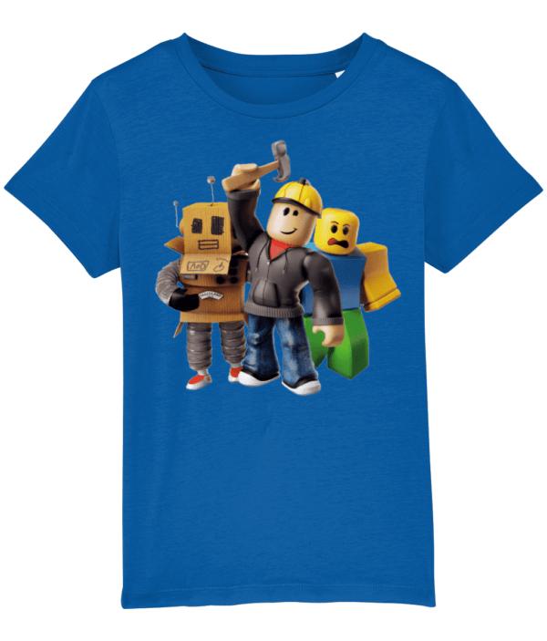Roblox builder man Mr robot and the noob Child's T shirt builder man