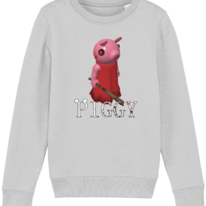 Piggy from Piggy game in Roblox child's sweatshirt Piggy from Piggy game in Roblox child's sweatshirt