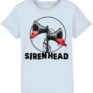 Blood Thirsty Siren Head Child's T shirt blood
