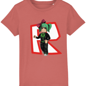 Girls GeeGee92 from Roblox child's T shirt