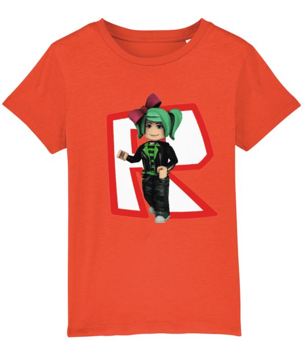 Girls GeeGee92 from Roblox child's T shirt GeeGee92