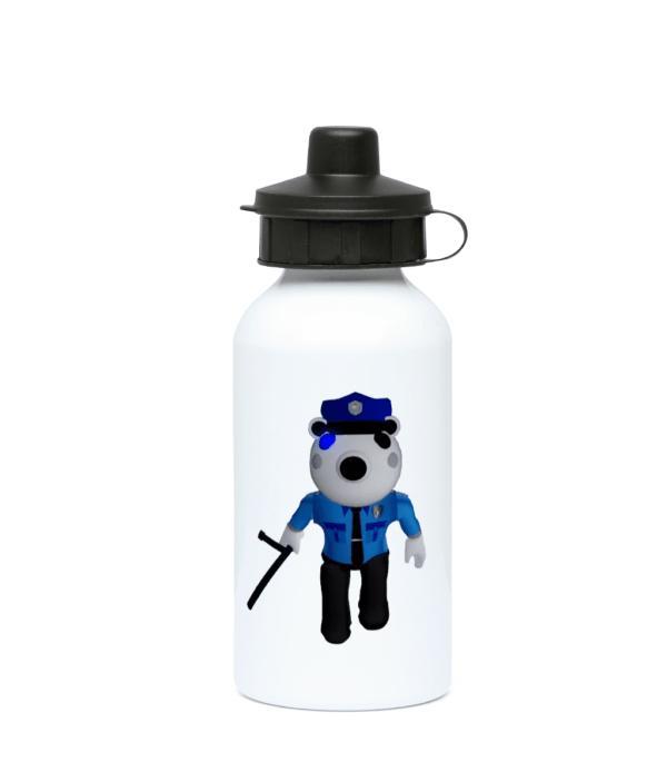 Poley-Piggy-Skin-Roblox 400ml Water Bottle piggy