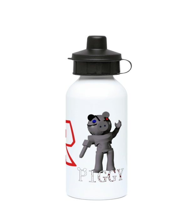 Robby from Piggy Game 400ml Water Bottle Robby from Piggy Game 400ml Water Bottle