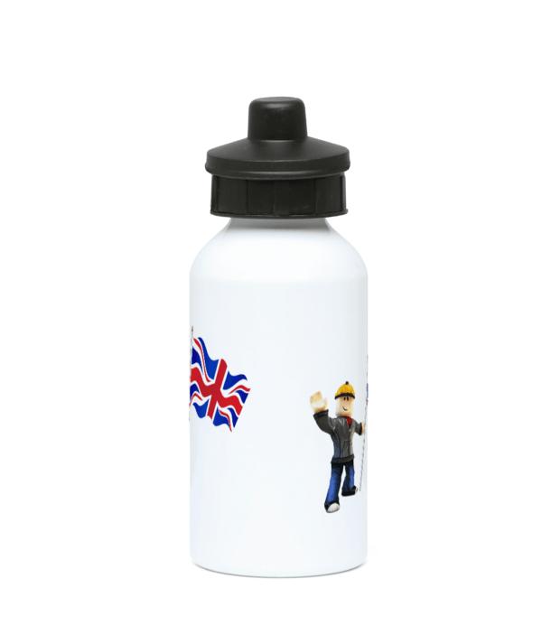 Builder man and UK Flag 400ml Water Bottle Builder man and UK Flag 400ml Water Bottle