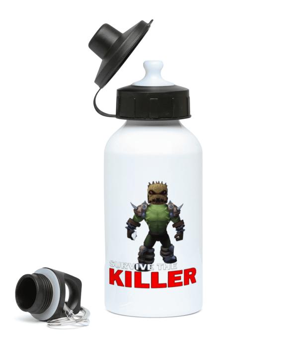 burlap brute survive the killer 400ml Water Bottle burlap brute
