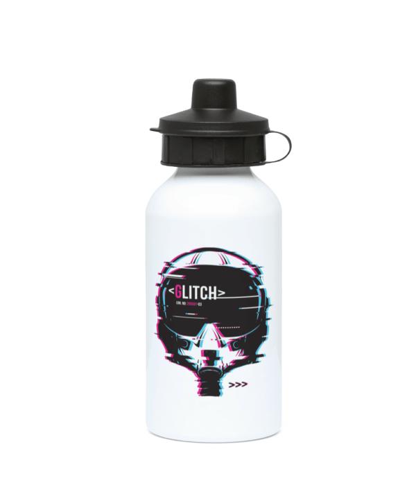 The Glitch 400ml Water Bottle glitch