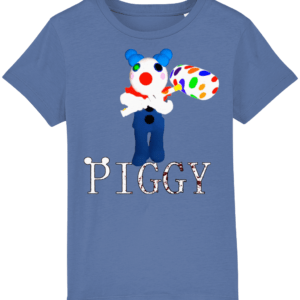 Clowny from Piggy game on Roblox child's t shirt