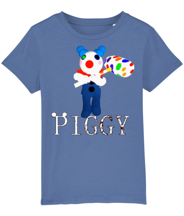 Clowny from Piggy game on Roblox child's t shirt clowny