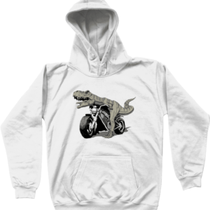 Bargain Range Child's Dino Bike Hoodie