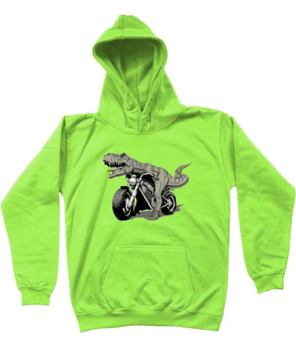 Bargain Range Child's Dino Bike Hoodie