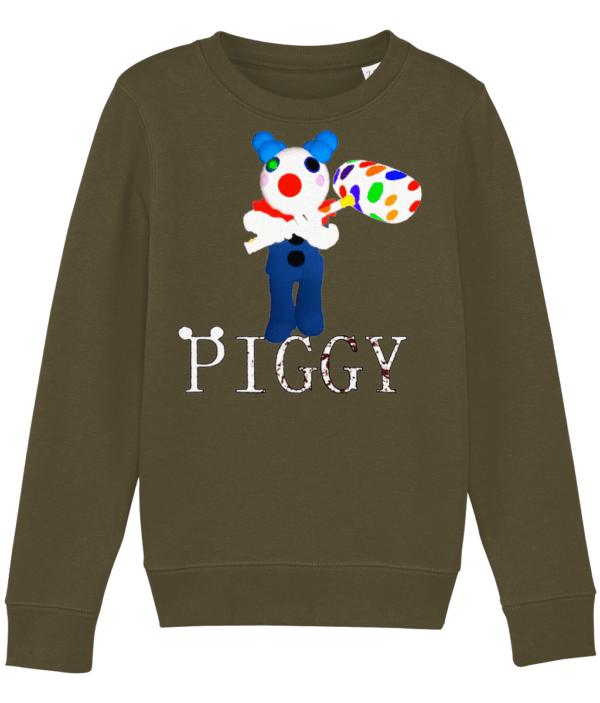 Clowny from Piggy Roblox game child's sweatshirt clowny