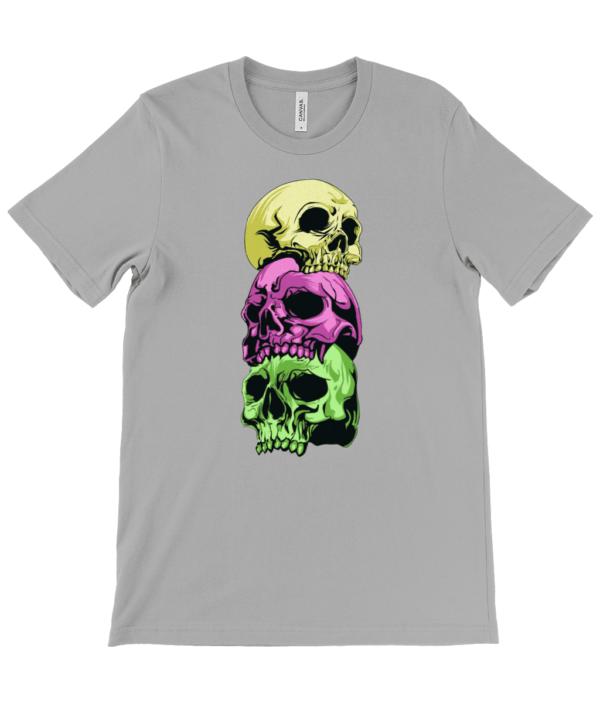 The Skulls Unisex Crew Neck T-Shirt skulls