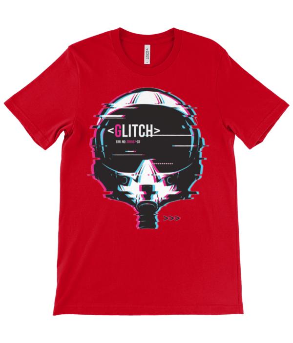 The Glitch gamers Unisex Crew Neck T-Shirt glitch