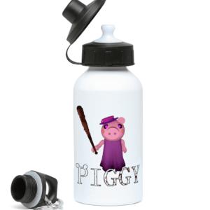 Grandma from piggy in Roblox 400ml Water Bottle grandma