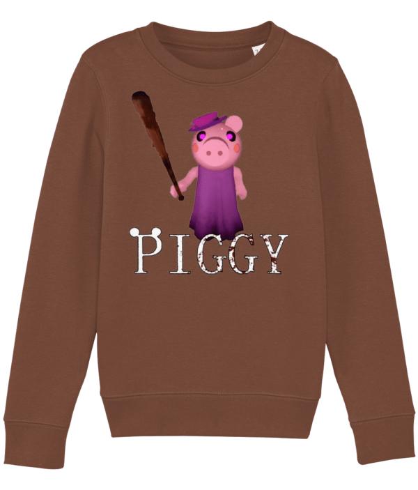 Grandma from piggy in Roblox Child's Sweatshirt grandma