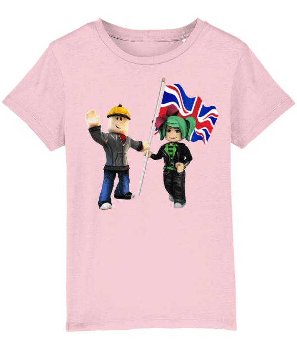 Builder man and GeeGee92 with UK Flag builder man