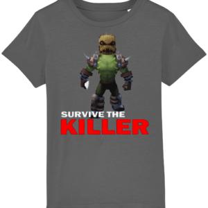 burlap brute survive the killer  child's t shirt burlap brute