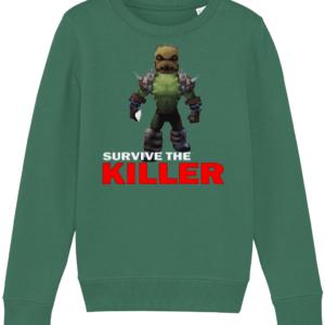 burlap brute survive the killer child's sweatshirt