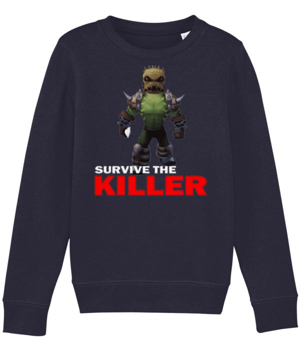 burlap brute survive the killer child's sweatshirt burlap brute