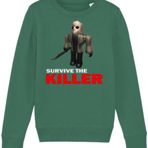 Jason survive the killer child's sweatshirt