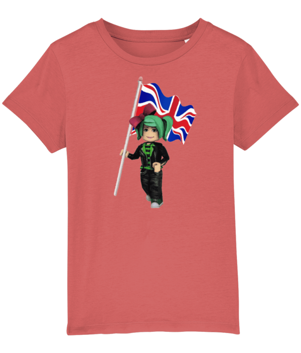 GeeGee92 and the UK Flag Child's t-shirt GeeGee92