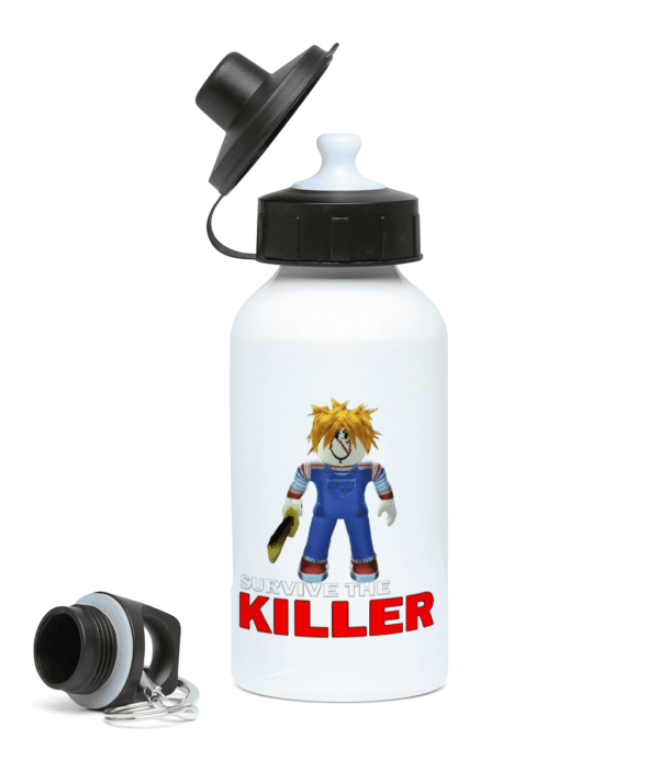 chucky skin from survive the killer  400ml Water Bottle chucky skin from survive the killer 400ml Water Bottle