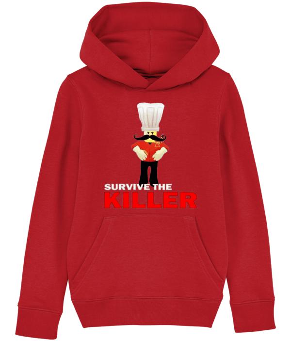 papa roni survive the killer child's hoodie papa roni survive the killer child's hoodie