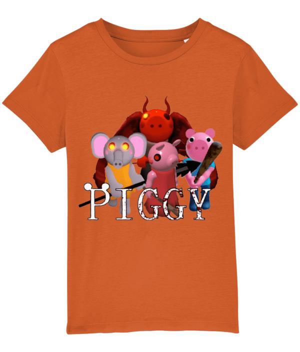 Devil, George, Ele and Piggy Child's t-shirt devil