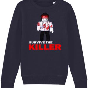 jeff survive the killer child's sweatshirt