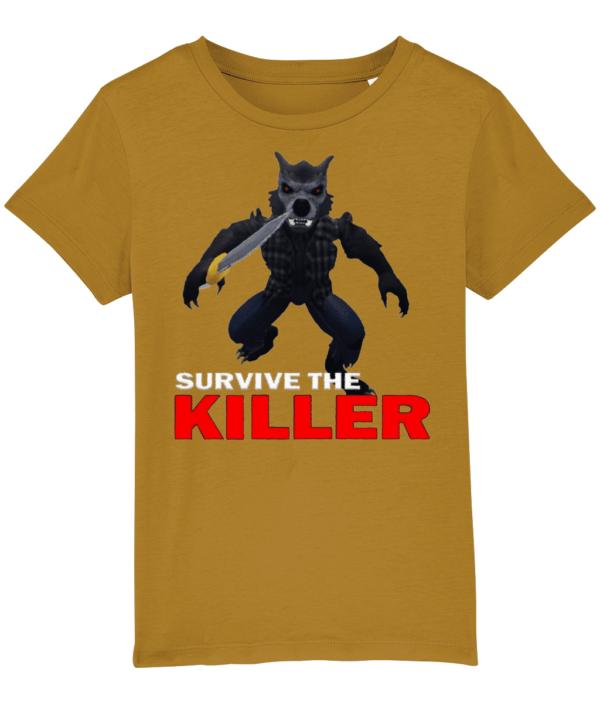 darius howley survive-the-killer child's t-shirt daruis howley