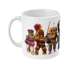redcliffe-elite-manager-mr robot, builderman-noob-ezebel-thepirate-queen Mr Bling and Pompom girl11oz Mug