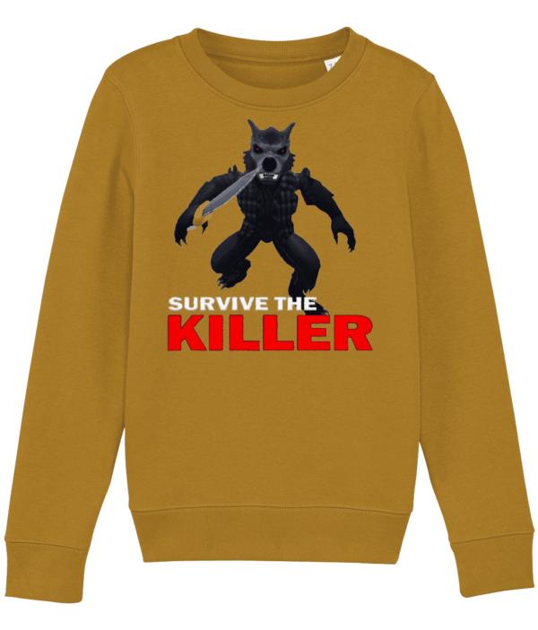 darius howley survive-the-killer child's sweatshirt daruis howley