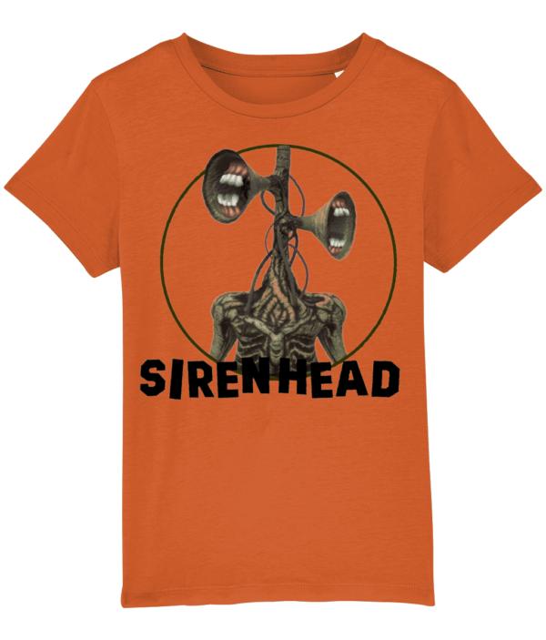 Siren Head child's t-shirt white-teeth