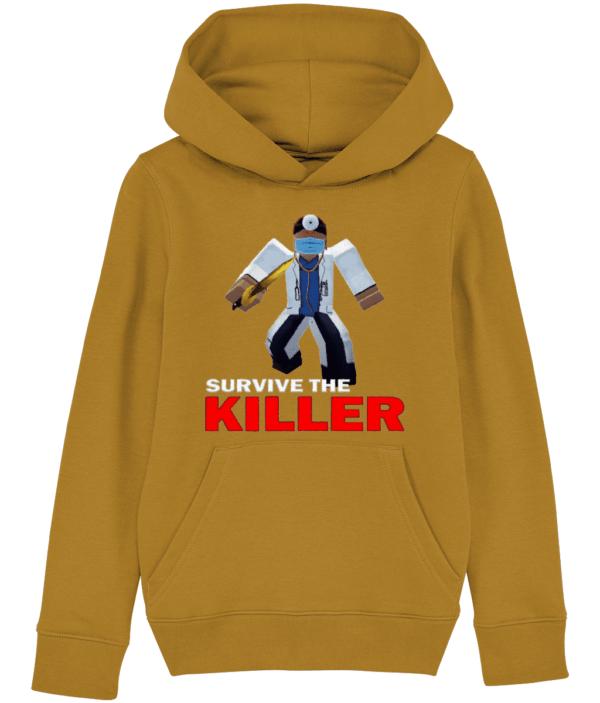 asylum doctor survive-the-killer child's hoodie asylum doctor