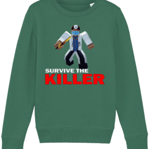 asylum doctor survive-the-killer child's sweatshirt