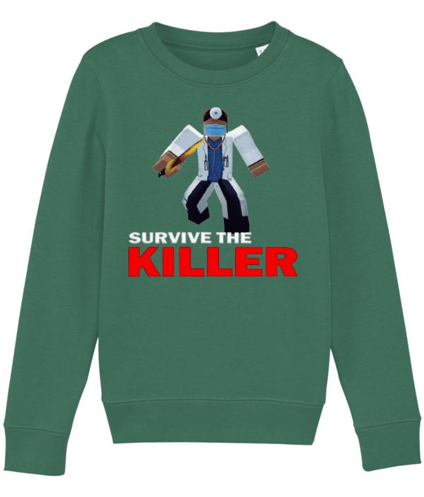 asylum doctor survive-the-killer child's sweatshirt asylum doctor