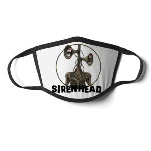 Siren Head white teeth Face Mask Siren Head white teeth Face Mask