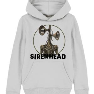 Siren Head white teeth child's hoodie
