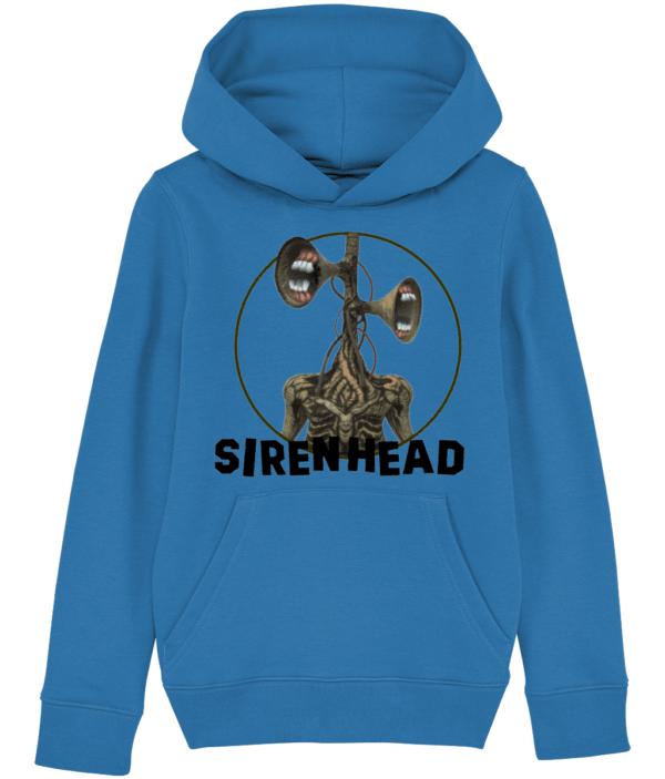 Siren Head white teeth child's hoodie Siren Head white teeth