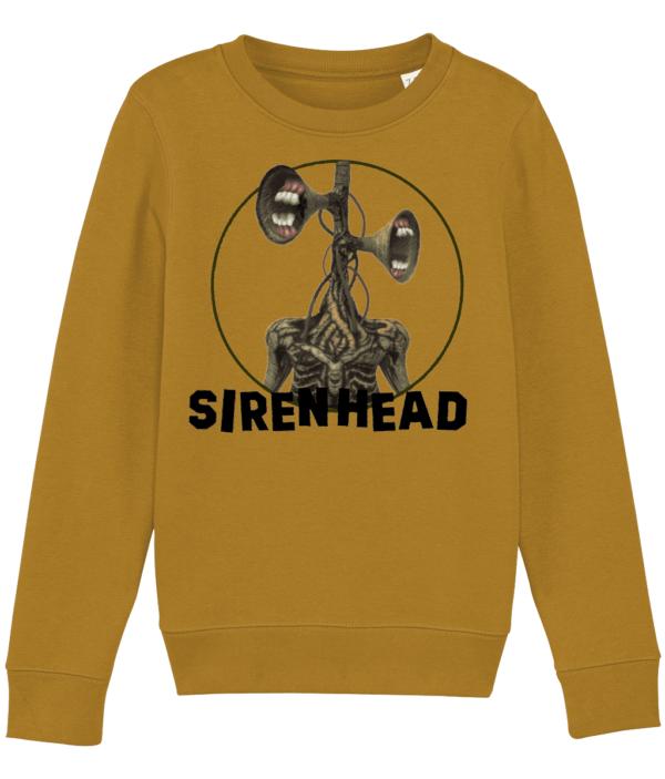 Siren Head white teeth child's sweatshirt Siren Head white teeth