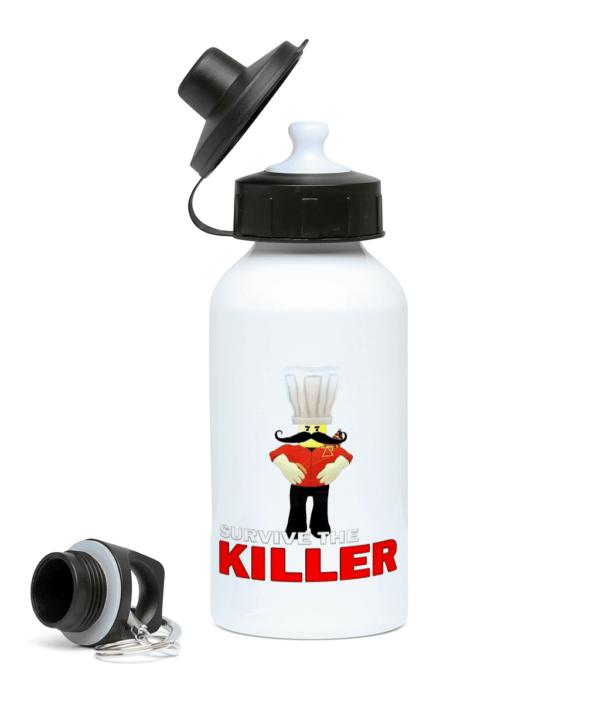 papa roni survive the killer 400ml Water Bottle papa roni survive the killer 400ml Water Bottle