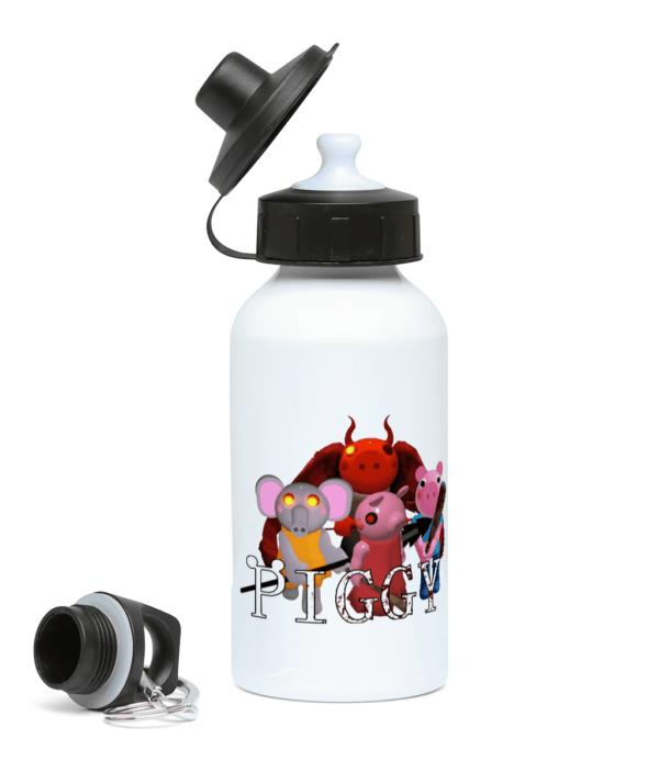 Devil, Ele, George and Piggy 400ml Water Bottle devil