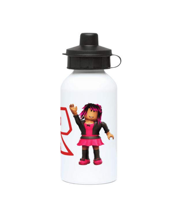 Roblox Pink Girl 400ml Water Bottle Roblox Pink Girl 400ml Water Bottle