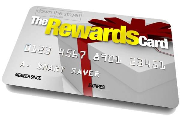 Reward's for shopping