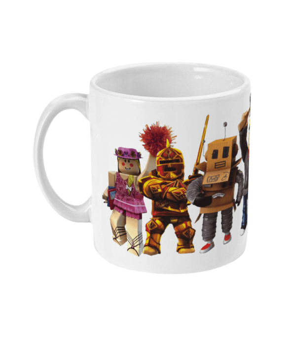 redcliffe-elite-manager-mr robot, builderman-noob-ezebel-thepirate-queen Mr Bling and Pompom girl11oz Mug builderman-noob-ezebel-thepirate-queen Mr Bling and Pompom girl11oz Mug