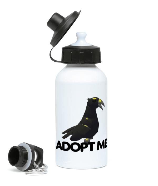 adopt me crow 400ml Water Bottle adopt me crow 400ml Water Bottle