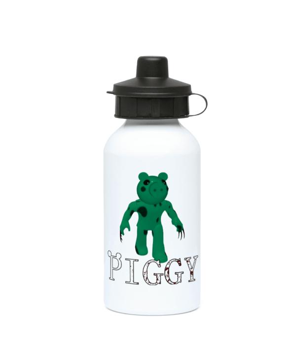 Dino Piggy from Piggy game 400ml Water Bottle Dino Piggy from Piggy game